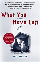 What you have left : a novel