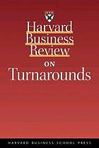 Harvard business review on turnarounds.