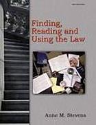 Finding, reading, and using the law