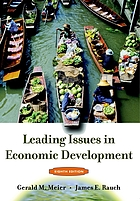 Leading issues in economic development