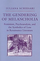 The gendering of melancholia : feminism, psychoanalysis, and the symbolics of loss in Renaissance literature