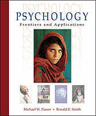 Psychology : frontiers and applications