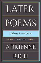 Later poems : selected=
