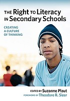 The right to literacy in secondary schools : creating a culture of thinking