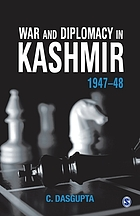 War and diplomacy in Kashmir, 1947-48