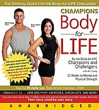 Champions body for life : [12 weeks to mental and physical strength]