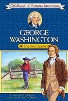 George Washington, young leader