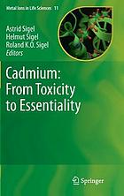 Cadmium : from toxicity to essentiality