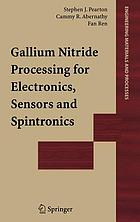 Gallium nitride processing for electronics, sensors, and spintronics