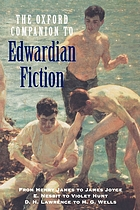 The Oxford companion to Edwardian fiction