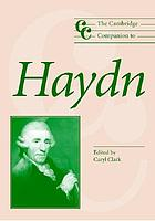 The cambridge companion to Haydn