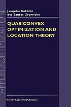 Quasiconvex optimization and location theory