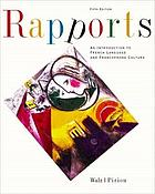 Rapports : an introduction to French language and francophone culture