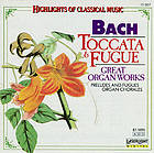 Toccata and fugue : great organ works