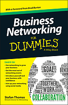 Business Networking For Dummies.