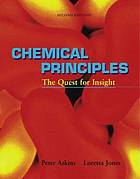 Chemical principles : the quest for insight