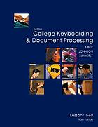 Gregg college keyboarding & document processing. Lessons 1-60