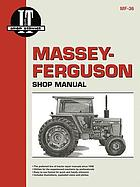 Massey-Ferguson shop manual : models MF285.