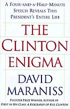 The Clinton enigma : a four-and-a-half-minute speech reveals this president's entire life