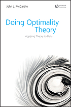 Doing optimality theory : applying theory to data