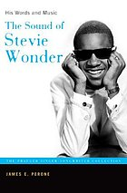 The sound of Stevie Wonder : his words and music