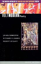 The Norton anthology of modern and contemporary poetry : v. 1. Modern poetry