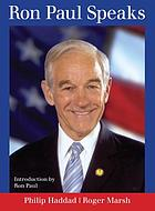 Ron Paul speaks