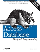 Steven Roman's Access Database Design and Programming