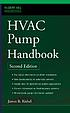 HVAC pump handbook by  James B Rishel