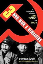 Three who made a revolution : a biographical history