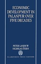 Economic development in Palanpur over five decades
