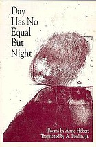Day has no equal but night : poems