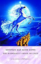 Mountain man dance moves : McSweeney's book of lists