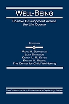 Well-being : positive development across the life course
