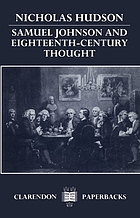 Samuel Johnson and eighteenth-century thought