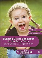 Building better behaviour in the early years