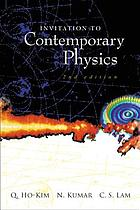 Invitation to contemporary physics