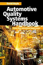 Automotive quality systems handbook