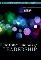 The Oxford handbook of leadership