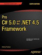 Pro C♯ 5.0 and the .NET 4.5 framework