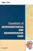 Essentials of neuroanesthesia and neurointensive care