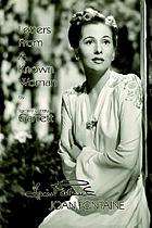 Letters from a known woman, Joan Fontaine : a biography