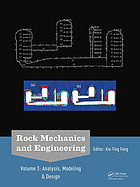 Rock mechanics and engineering Volume 3, Analysis, modeling & design
