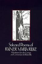 Selected poems of Rainer Maria Rilke
