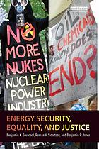 Energy security, equality and justice