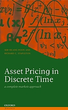 Asset pricing in discrete time : a complete markets approach