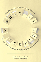 What is a people?