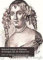 Selected letters of Madame de Sévigné