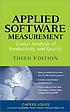 Applied software measurement : assuring productivity... by  Capers Jones