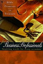 Bible promises to treasure for business professionals